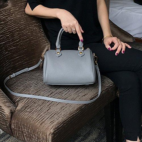 Borse, borse semplici casuali, sacchetti di cuscini, borsa obliqua obliqua ( Colore : Azzurro ) Grigio