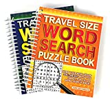 2 X Travel Size Word Search Books