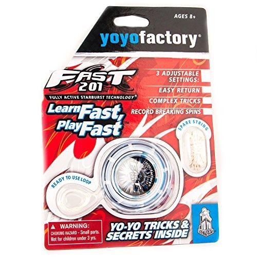 YoyoFactory Fast 201 Yo-Yo - Negro