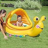 HUACANG Kind-Wasserball-aufblasbarer Pool, der Baby-Ozean-Ball-Badewanne, Kleinkind-Spielzeug Bobbie Schatten-Badewanne wäscht (gelb)