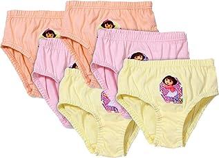 Careplus Girl's Printed Multicolor Panty ( Pack Of 6 )