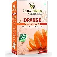 Forest Herbs 100% Pure & Organic Orange Peel Powder For Face Skin Whitening - 100 Grams
