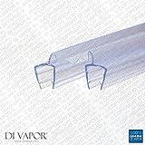 Di Vapor (R) Double Dusche Glas Panel Dichtungen | 25mm Tischler Falttür Dusche Bildschirm