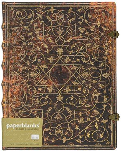 Paperblanks Grolier OrnamentaliCarnet de note Ligné Ultra Multicolore