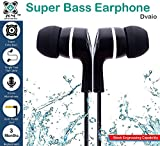 #10: Dvaio In-Ear Headphone With Mic / Earphone With Mic Super Extra Bass - Black