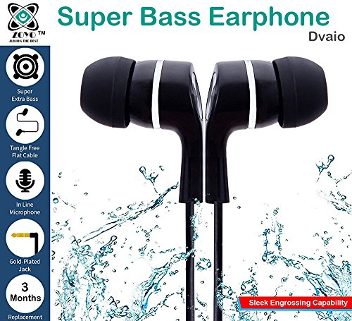 Zoyo SSkk Redmi Earphone In Ear earphones with mic Super HD Bass Stereo Earphones and Treble Compatible with Xiaomi redmi 4/ Xiaomi Mi3 / Mi4 / Mi4i / Redmi Note 4 / Redmi Note 3 / Redmi 3s / Redmi 3s Prime / Redmi 2 / Redmi 2s / Redmi 2 Prime / Mi Note 4G / Mi Note 2 / Xiomi Mi Redmi 2S Prime / Xiaomi Redmi 3 S Prime / Xiaomi Redmi 3S Prime / Mi 4 / Mi Note 4 Redmi 4a and all other Xiaomi redmi ear phone  available at amazon for Rs.100