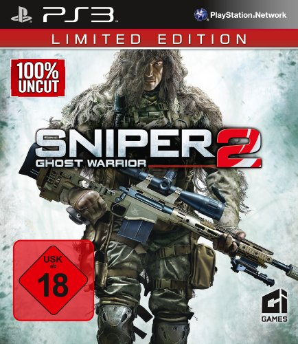 Sniper: Ghost Warrior 2 - Limited Edition (100% uncut) - [PlayStation 3] (Playstation Spiel-system 3)