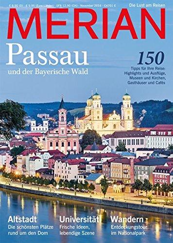 Preisvergleich Produktbild MERIAN Passau: und der Bayerische Wald (MERIAN Hefte)