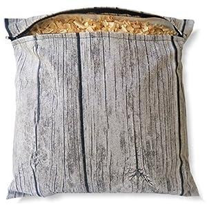 Zirbenkissen, Zirbenpolster 30x30cm mit Reißverschluss | WOODDESIGN | Baumwolle | Naturprodukt