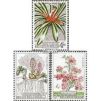 Bélgica 1799-1801 (completa.edición.) 1975 Flower Show (sellos para los coleccionistas)
