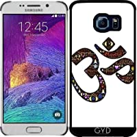Custodia per Samsung Galaxy S6 EDGE (SM-G925) - Namaste Indù Indiano by WonderfulDreamPicture - Saluto Edge Design