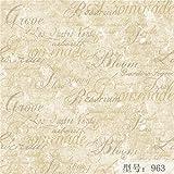 YUELA Papel tapiz no tejidas_letra inglesa wallpaper dormitorio salón estudio restaurante tapiz tapiz verde ofertas mayoristas,963