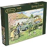 Falcon de Luxe Spring Lambs Jigsaw Puzzle