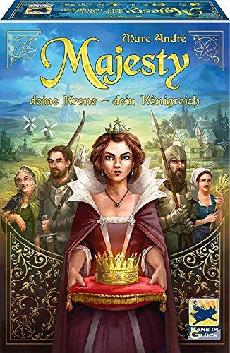 Schmidt Spiele 48275 Majesty: Deine Krone - Dein Königreich, Hans im Glück