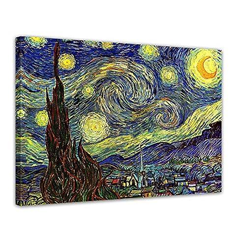 Toile Van Gogh - Bilderdepot24 toile imprimée Deco - tableau toile