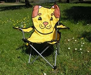 chaise de camping pliable pour enfant chien chaise pour enfant sports et loisirs. Black Bedroom Furniture Sets. Home Design Ideas