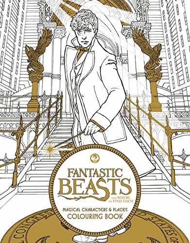 Fantastic Beasts And Where To Find Them Colouring