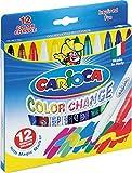 Carioca Cambia 12 Feutres magiques Couleurs assorties
