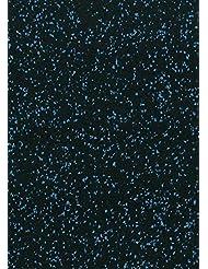 Alfombra para aparatos de fitness & # x2713; Base 4mm & # x2713; sólida Protección del suelo & # x2713; antideslizante & antinudos–Suelo de–Estera Fitness–Suelo de habitación Sport dispositivos multifunción de Matte goma por ejemplo para cinta de correr, Cross de entrenamiento banco de pesas, &, azul, 100x125x0.8cm