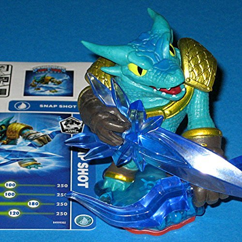 Snap Shot Skylanders Trap Team Trap Master Character (includes card and  code, no retail package) by Activision