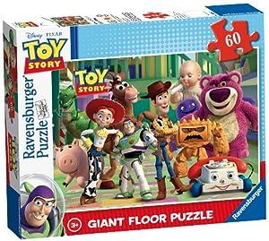 Ravensburger 5291 - Puzzle de Suelo Gigante de 60 Piezas, diseño de Toy Story