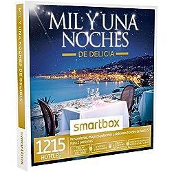SMARTBOX - Caja Regalo -MIL Y UNA NOCHES DE DELICIA - 1215 hospederías, palacetes y hoteles de hasta 5* en España, Portugal, Bélgica y Francia