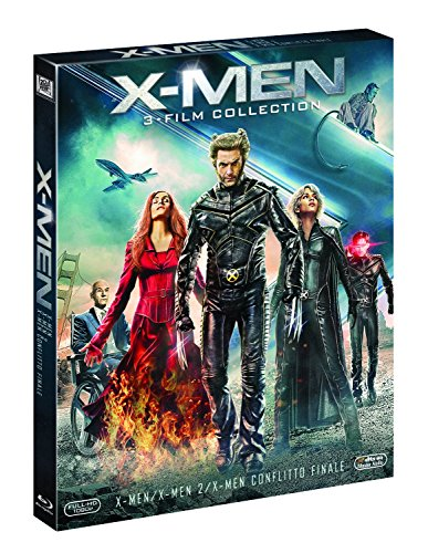 X-Men / X-Men 2 / X-Men - Conflitto Finale (3 Blu-Ray)