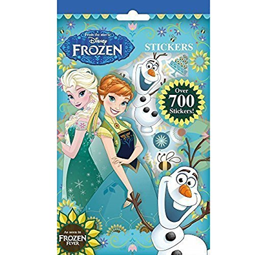 Pack de más de 700 pegatinas de Frozen Fever de Disney