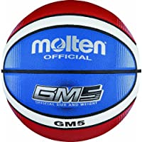 Molten Basketball BGMX5-C Rot/Weiß/Blau