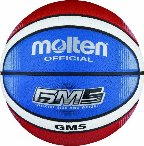 Molten Basketball BGMX5-C - Rot/Weiß/Blau - Größe 5