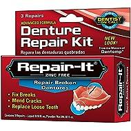 Dentist On Call Repair-It Denture Repair Kit