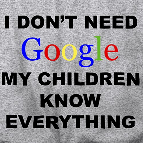 Non ho bisogno di Google My Children sapere tutto della novità internet T-Shirt Da Donna Pink