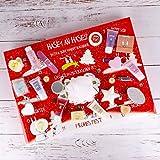 Hase an Hase| Adventskalender für Frauen und Mädchen Kinder mit 24 Sachen aus dem Wellness-, Körperpflege- & Beauty