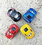 Qrity Push & Pull Spielzeug, Zurückziehen Auto, 4 Mini Alloy Fahrzeuge, Auto Spielzeug für Jungen Mädchen Kinder Kleinkind Party Favors, 1:64, 7x4x3CM