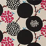 echino Fabrics Naturfarbenes Wachstuch mit großen