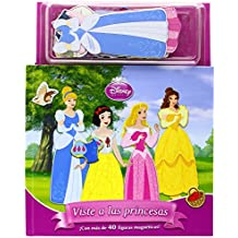 Viste a las princesas. Libro magnético: ¡Con más de 40 figuras magnéticas! (Disney. Princesas)
