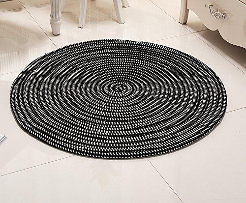 LWYDITAN DFHHG Super - Faserseil Serie Computer Kissen Rattan Stuhl Korb Runde Teppiche Wohnzimmer Schlafzimmer Umweltschutz Gemütlich (Farbe : #5, größe : Diameter150cm)