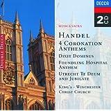 Handel: 4 Coronation Anthems/Dixit Dominus etc. (2 CDs)