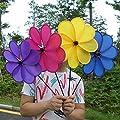 Yivan Windspiel Magic Wheel Bunt Windrad Ø30cm von Yivan bei Du und dein Garten