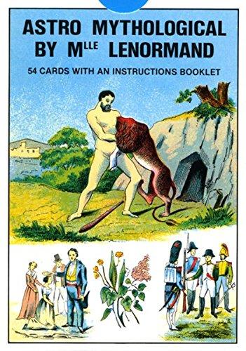 Grand Jeu de Mlle. Lenormand. 54 Orakelspielkarten