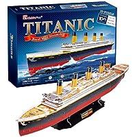 Titanic - Royal Mail Steamship BIG SIZE 3D Puzzle - Cubic Fun Series [Toy] (japan import)
