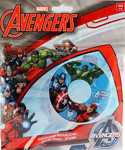 Marvel Avengers Assemble Schwimmring,ideal für Schwimmbad