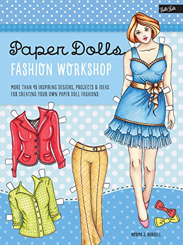 Couture Bleistift (Paper Dolls Fashion Workshop: More than 40 inspiring designs, projects & ideas for creating your own paper doll fashions (Walter Foster Studio))