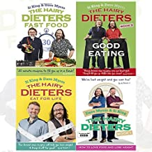 Hairy Bikers Collection 4 Books Bundle (The Hairy Dieters: Fast Food,The Hairy Dieters: Good Eating,The Hairy Dieters Eat for Life: How to Love Food, Lose Weight and Keep it Off for Good!,The Hairy Dieters: How to Love Food and Lose Weight)