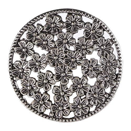 Efulgenz Unisex Damen - Metalllegierung (David Yurman Ring Damen)