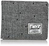 Herschel Hank Wallet Scattered Raven/Grau Punkte Geldbörse