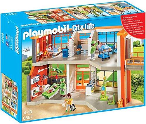 Preisvergleich Produktbild PLAYMOBIL®-Kinderklinik-Set (Art. 6657; 6659; 6660; 6661; 6662; 6663)