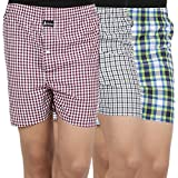 Joven Men's Cotton Multi-color Boxer-04