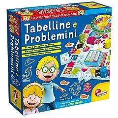 Idea Regalo - Lisciani Giochi- Tabelline e Problemini Giochi Educativi, Multicolore, 48885