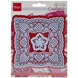 Ecstasy Crafts MLR0242 Marianne Design Creatables Dies-Anjas Squares, Up To 4.75 by Ecstasy Crafts